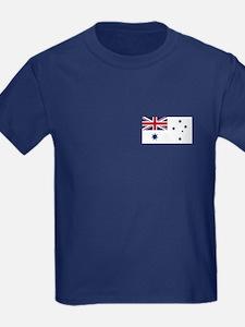 Australian Flag Kid's T-Shirt (Dark)