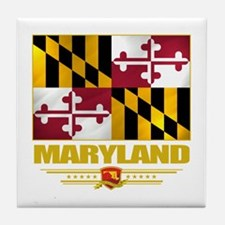 Maryland Pride Tile Coaster