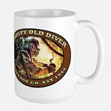 CRUSTY OLD DIVER SALVAGE CO. Mugs