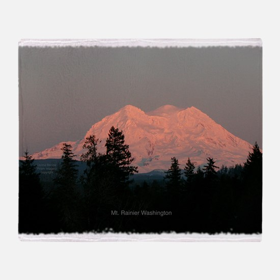 Majestic Mountains Throw Blanket