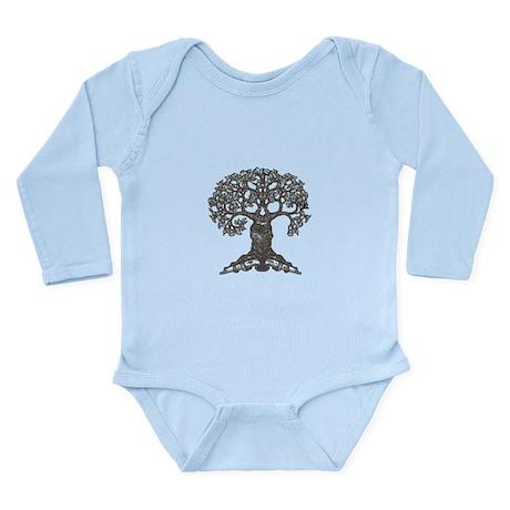 The Reading Tree Long Sleeve Infant Bodysuit