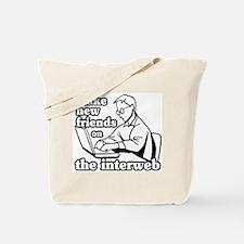 """Interweb Friends"" Tote Bag"