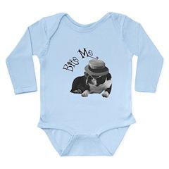 Bite Me 2 Long Sleeve Infant Bodysuit