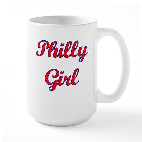 Philly Girl Large Mug