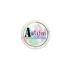 "Autism Advocacy Mini 1"" Button (100 pack)"