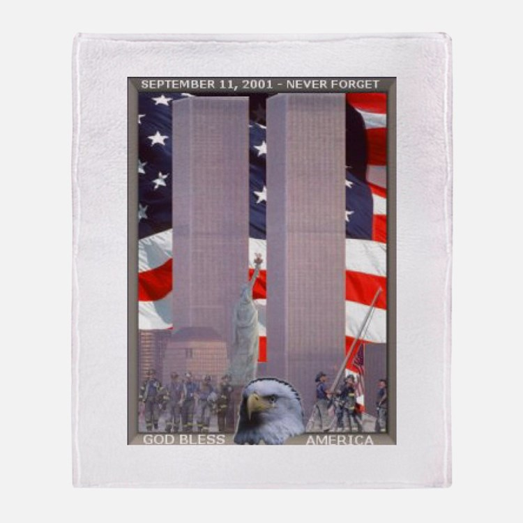 In Rememberance Throw Blanket