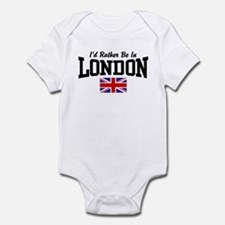 I'd Rather Be In London Infant Bodysuit