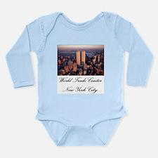 WTC at Sunrise Long Sleeve Infant Bodysuit