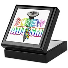 Screw Autism Keepsake Box
