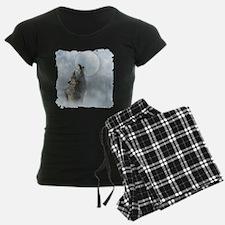 Wolf Blue Moon Pajamas