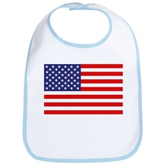 American Flag Bib