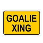 Goalie Xing Postcards (Package of 8)