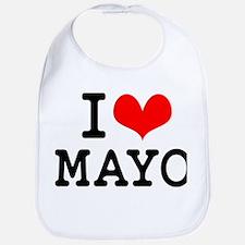 I Love Mayo Bib