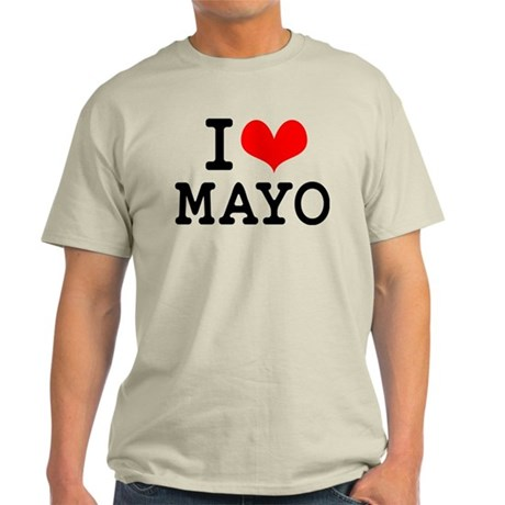 I Love Mayo Light T-Shirt