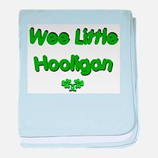 Wee Little Hooligan baby blanket