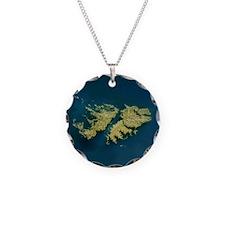 Funny Falkland islands Necklace