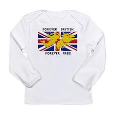 Falkland islands Long Sleeve Infant T-Shirt
