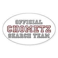 Chometz Oval Decal