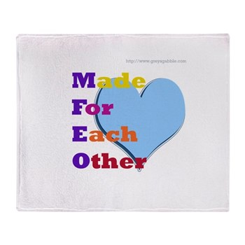MFEO Throw Blanket