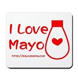 Mayonnaise Mouse Pads
