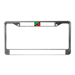 Saint Kitts and Nevis License Plate Frame