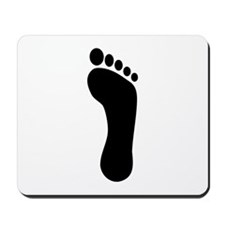 Footprint Mousepad
