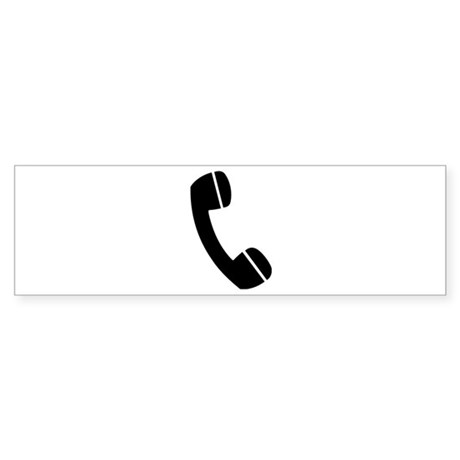 Telephone Sticker (Bumper)