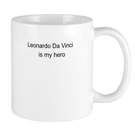 Leonardo Da Vinci is my hero Mug