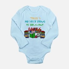 No such thing as too many boo Long Sleeve Infant B