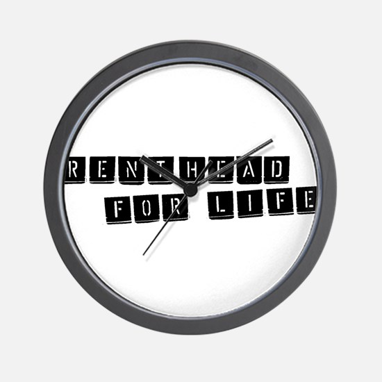 For Life Wall Clock