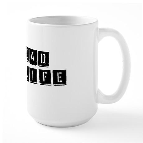 For Life Large Mug