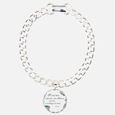 Cicero quote Bracelet