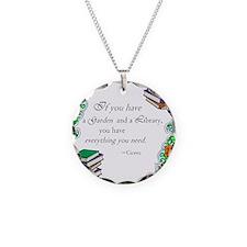 Cicero quote Necklace