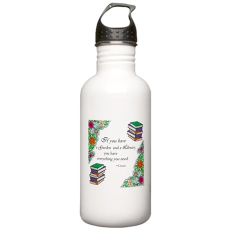 Cicero quote Stainless Water Bottle 1.0L