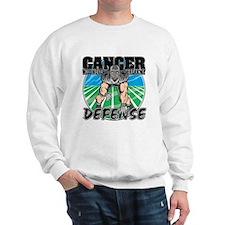 Melanoma Never Take Defense Sweatshirt