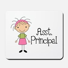 Cute Assistant Principal Mousepad