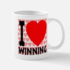 I Love Winning Mug