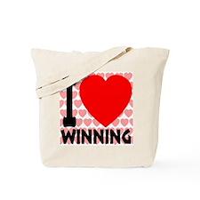 I Love Winning Tote Bag