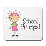 Principal School Lady Mousepad