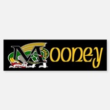 Mooney Celtic Dragon Bumper Bumper Bumper Sticker