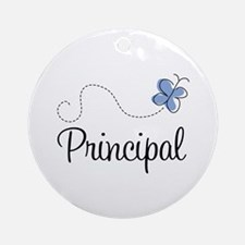 Principal End of Year Gift Ornament (Round)
