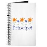 Principal Gift Flowered Journal