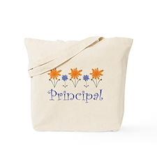 Principal Gift Flowered Tote Bag