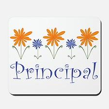 Principal Gift Flowered Mousepad