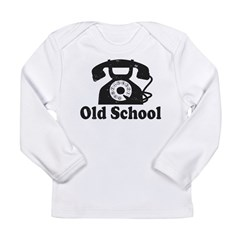 Old School Long Sleeve Infant T-Shirt