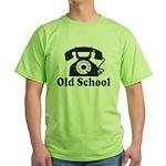 Old School Green T-Shirt