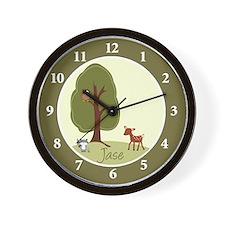 Woodland Deer Wall Clock - Jase
