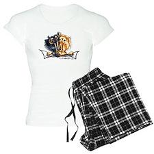 Longhair Dachshund Lover Pajamas