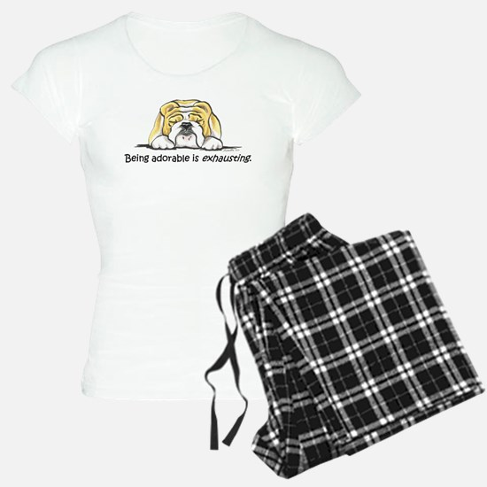 Adorable Bulldog pajamas