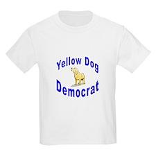 Yellow Dog Democrat Kids T-Shirt